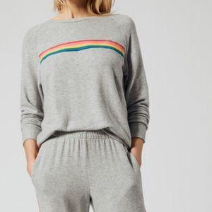 LNA Brushed Roller Crewneck Sweater Size Medium